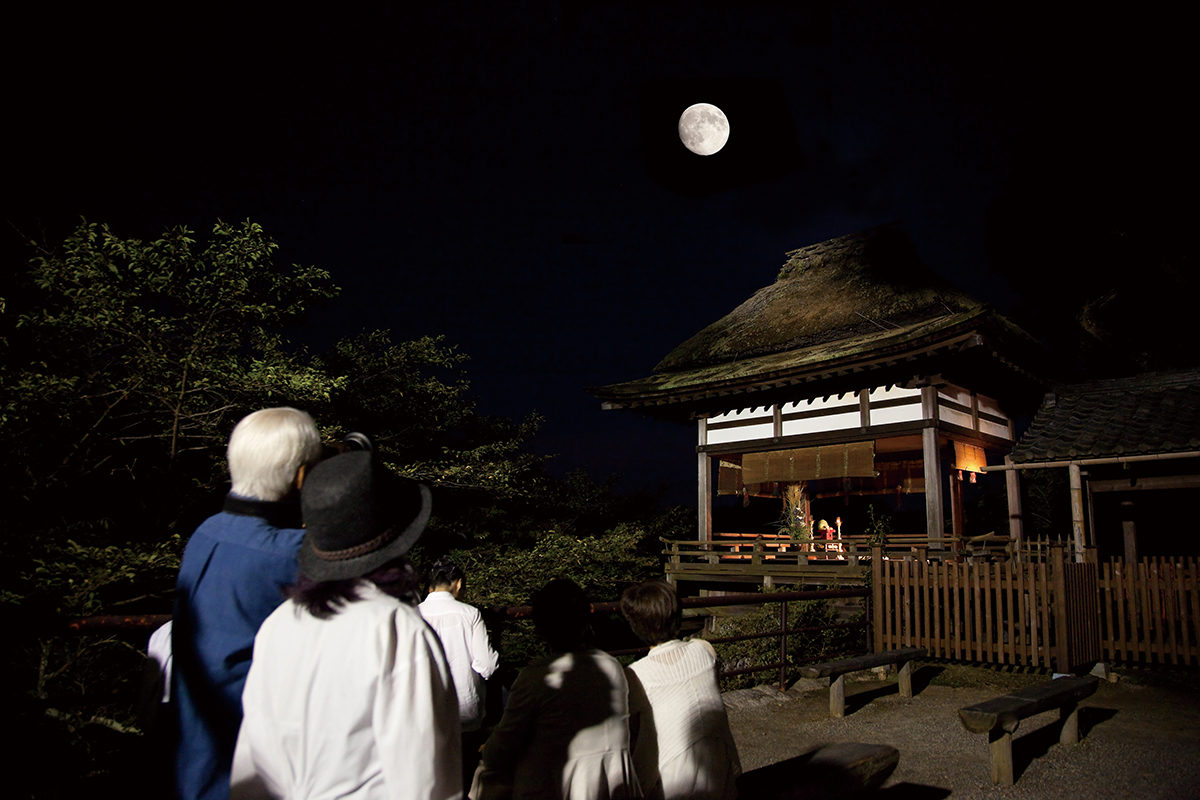 石山寺の月