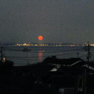 倉留寺の月/観月会