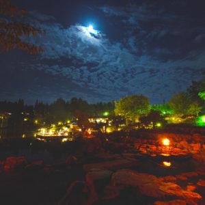けいはんな記念公園・水景園の月/観月の夕べ