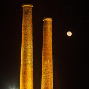 たがわ炭坑節の月